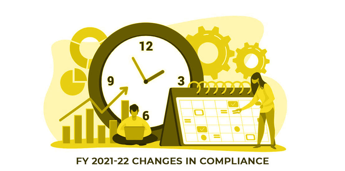 FY 2021-22 changes in compliance